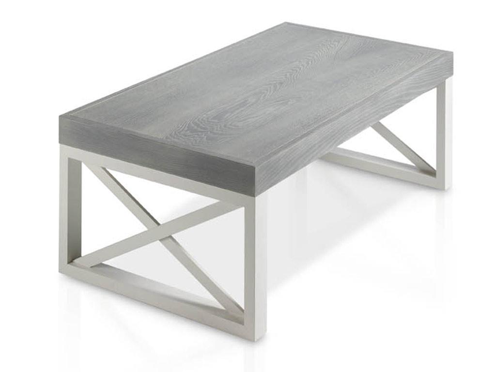 Mesa de centro atamborada con patas aspa casanova gand a for Patas para mesa de centro