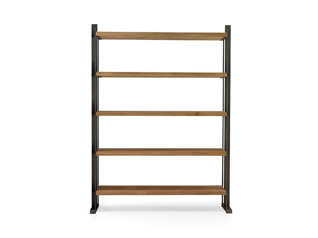 Estanteria de estilo industrial de 150cm colecci n evoluci n for Libreria estilo industrial