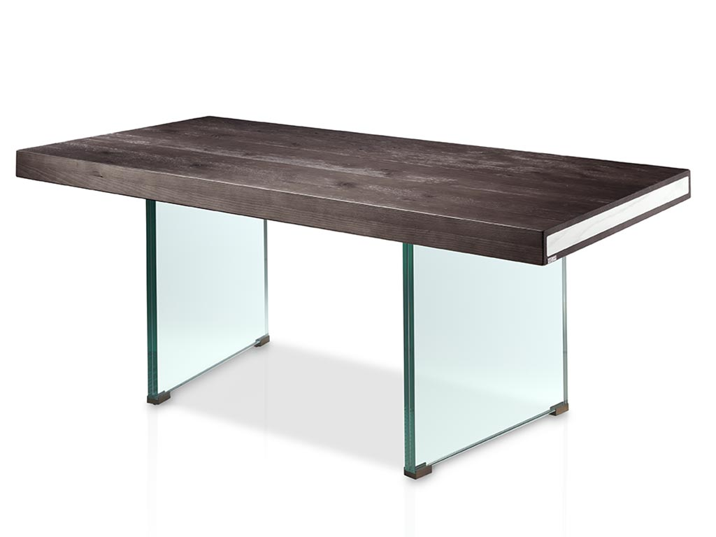 Mesas de comedor especial patas de cristal - Mesas comedor cristal ...