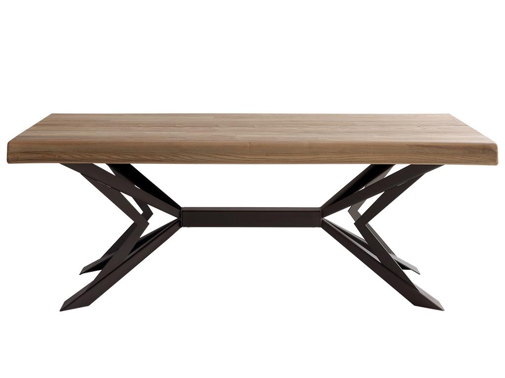 Mesa comedor de fresno y patas p1 for Muebles de comedor mesas