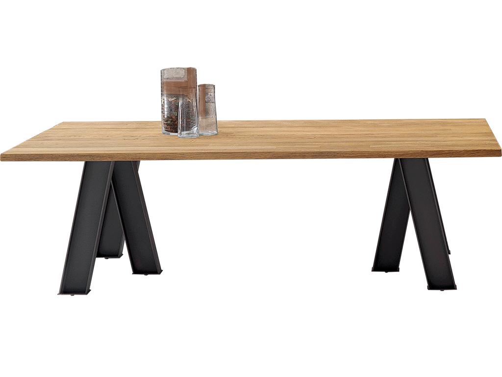 Mesa comedor de madera en roble marinado y patas p21 - Patas de mesa de madera ...