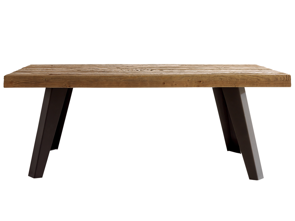 Mesa de comedor de madera mesa comedor madera extensible - Cristales para mesas precios ...