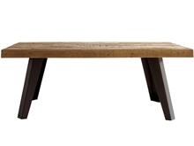 Mesa comedor mobila erosionada con patas p-8