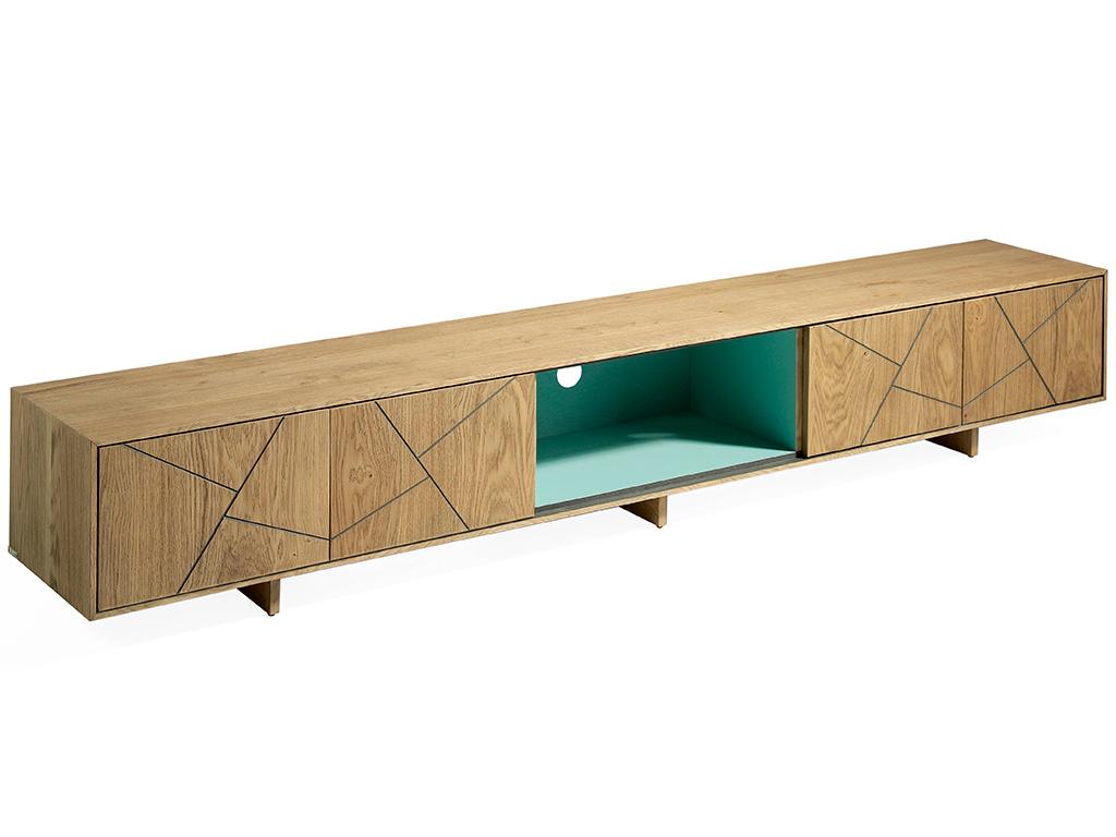 Mueble tv con 4 puertas y hueco central - Muebles casanova catalogo ...