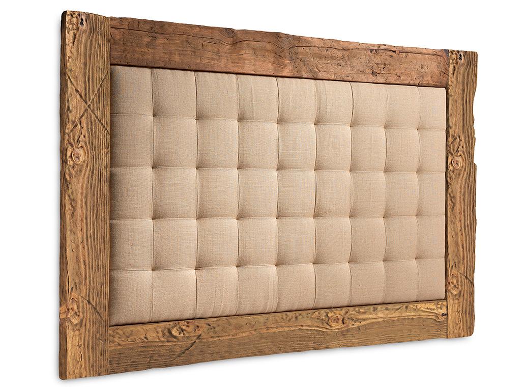 Cabezales de cama tapizados amazing cama clsica tapizada - Cabezal de cama tapizado ...