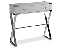 Suspirarte 90 cm Console with Metal Legs