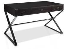 Suspirarte Home Office Desk with Metal Legs