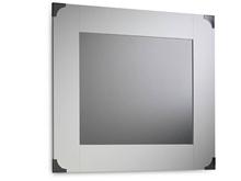 Suspirarte Mirror with Decorated Clasps, 87 cm