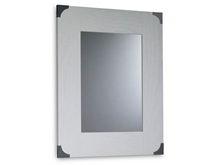 Suspirarte Mirror with Decorated Clasps, 69 cm