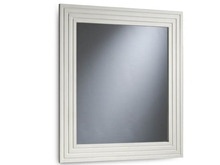 Espejo con marco de 80 cm con estrías