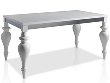 Suspirarte Extendable Dining Table with Classical Legs