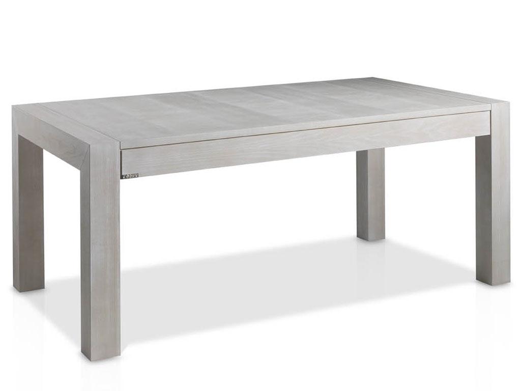 mesas de comedor extensible de madera de fresno