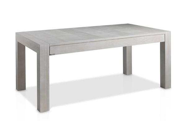 Mesas de comedor extensible de madera de fresno for Muebles de oficina gandia