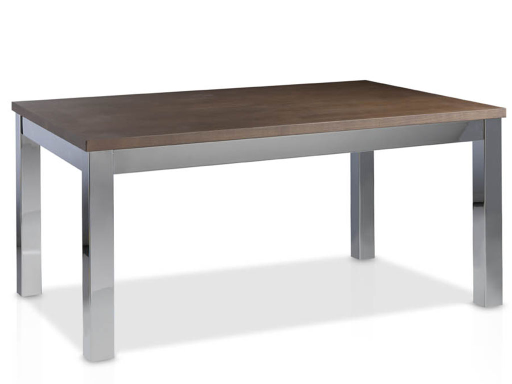 mesas de comedor extensible metalica