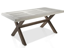 Evolucion Dining Table with Eroded Cover
