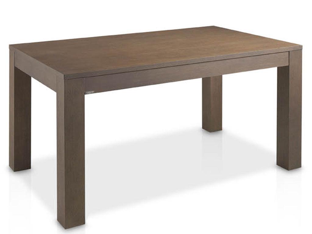 Mesas de comedor extensible fabricada en madera de roble for Mesita de comedor