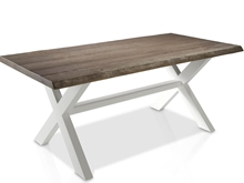 Evolucion Dining Table with Wooden Legs