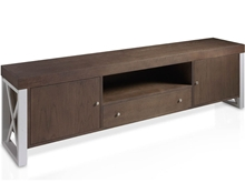 Mueble TV con aspas laterales