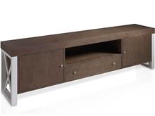 Mueble TV con aspas laterales