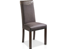 High-backed chair ( single style of upholstery) in T-408 Karey Fabric