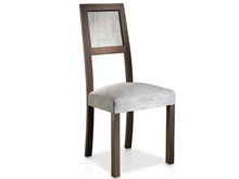 Evolución Upholstered Chair with Straight Legs and Eroded Back T-475 T-475