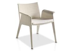 Evolución Ivory Armchair With Cushion