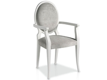 Suspirarte Armchair With Upholstered Oval Piece