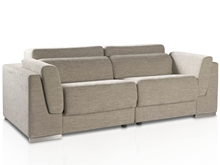 Karey Two-Seat Upholstered sofa with T- 479 fabric