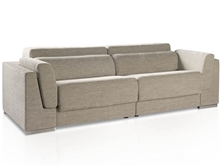 Karey Three-seat upholstered sofa with T-479 fabric