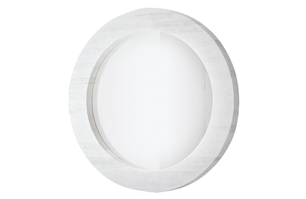 Espejo redondo de 100cm coleccion evolucion1 for Espejo redondo blanco