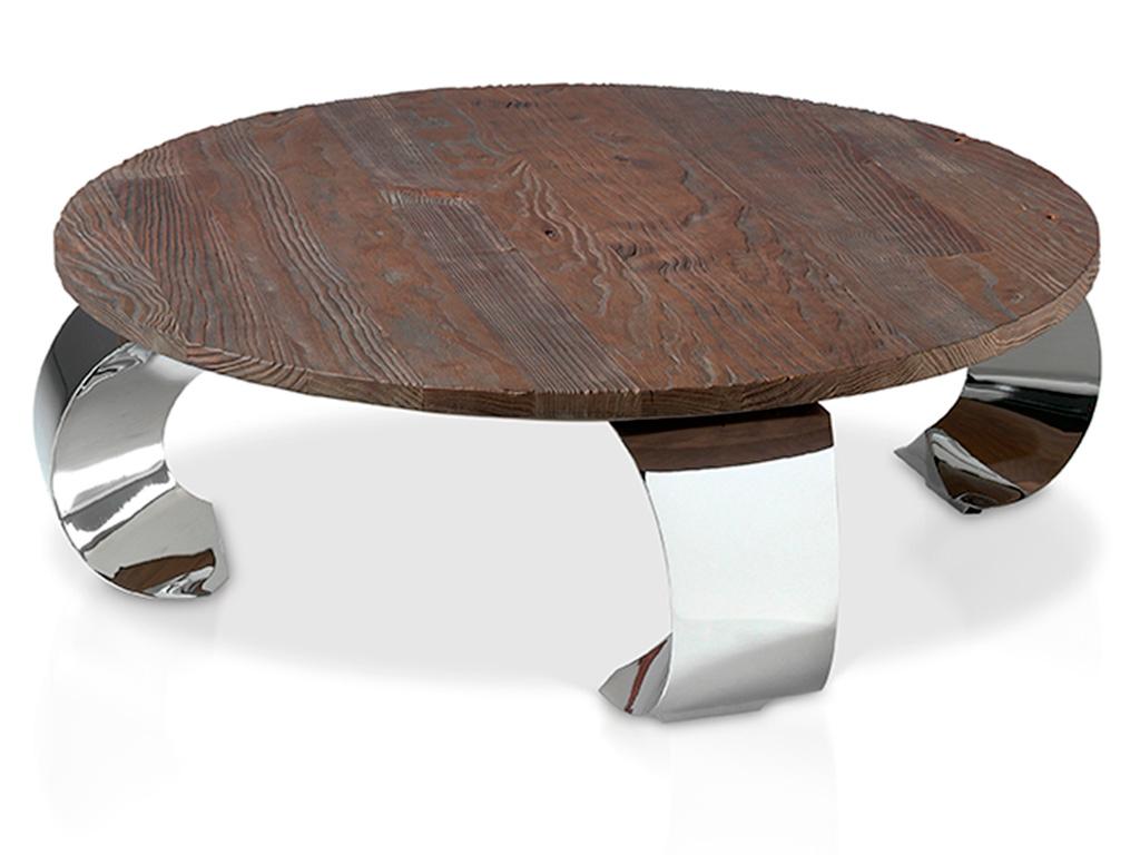 Mesa de centro con patas opium invertidas for Patas para mesa de centro