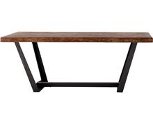 mesa comedo fresno textura flecha con patas p-4