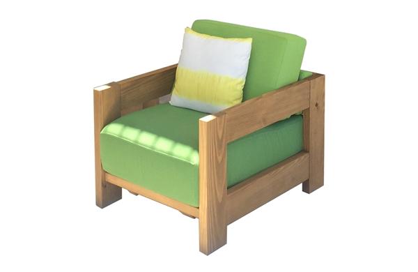 Sillon exterior para madera termofusionada - Sillon para exterior ...