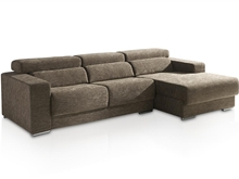 Sofa 2 plazas con chaise Longue