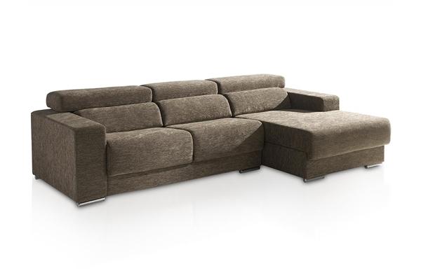 Sofa 2 plazas con chaise longue - Muebles sofas modernos ...